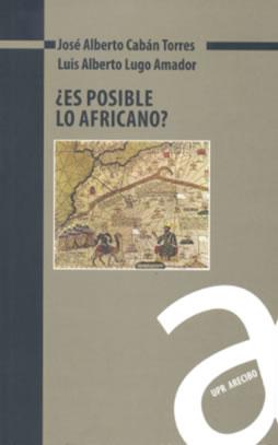 Cubierta del libro ¿Es posible lo africano?