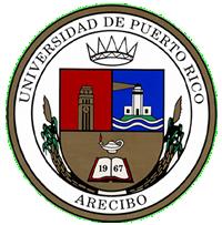 Escudo de la Universidad de Puerto Rico en Arecibo