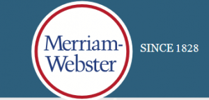 Link to Merriam Webster's page