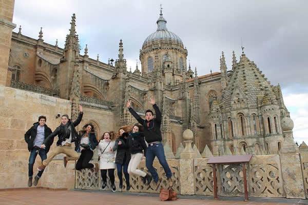Estudiantes en España en 2015