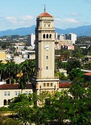 Torre de la Universidad de Puerto Rico en Río Piedras