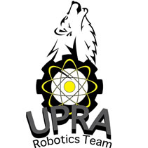 "Logo de Asociación Estudiantil ""UPRA Robotics TEAM"""