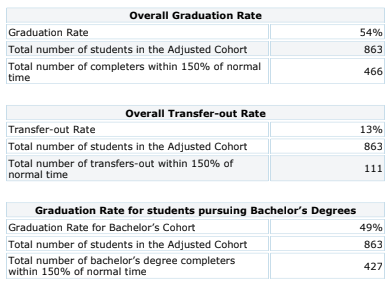Overall Cohort 2013 Graduation Rate