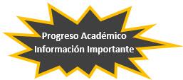 Progreso Académico Información Importante