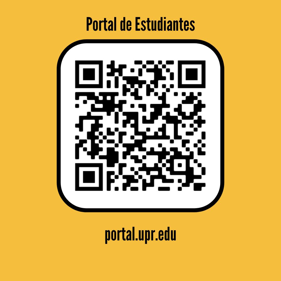 QR Code Portal de Estudiantes