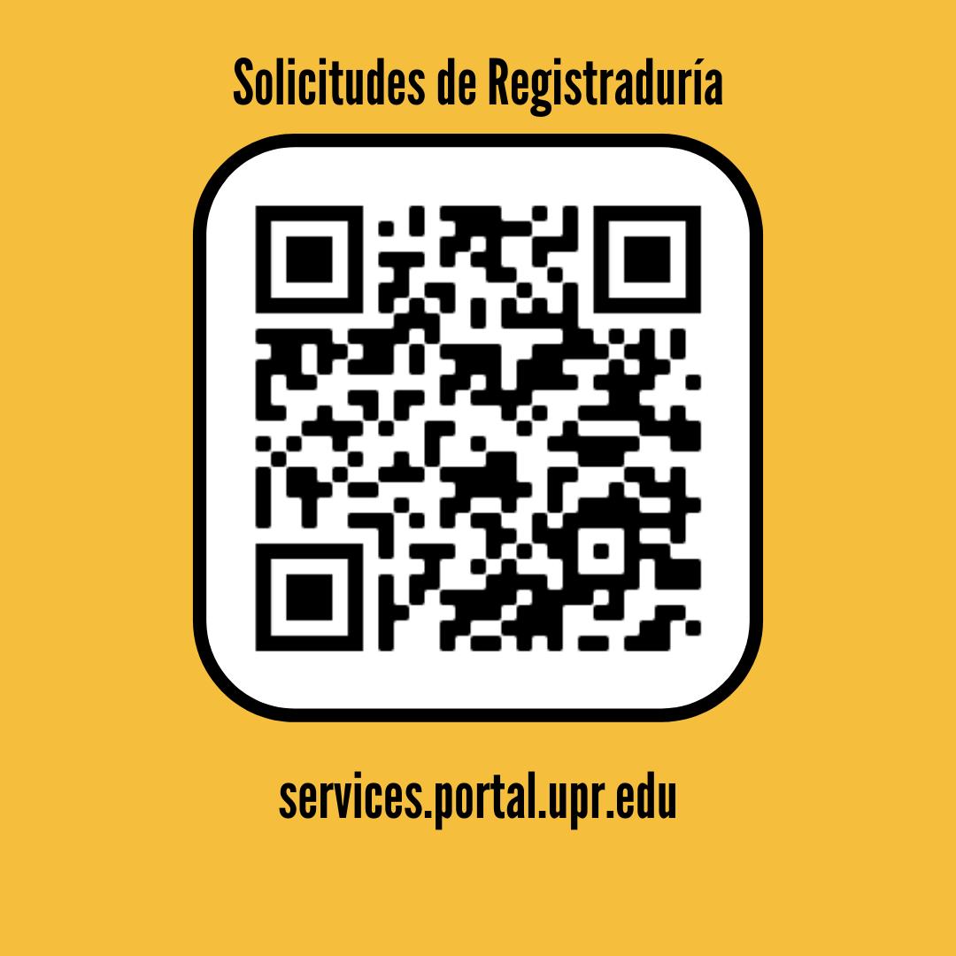 QR Code services.portal.upr.edu